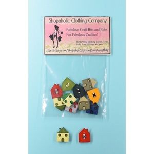 NEW HOME house Scrapbooking Embellishments